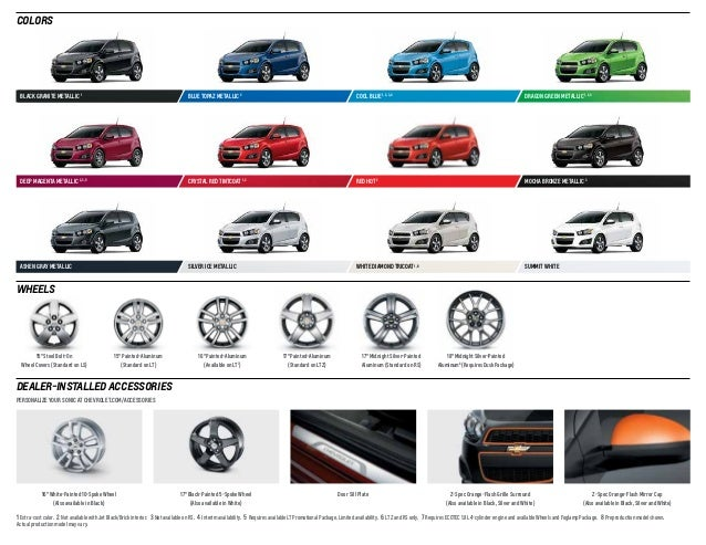 2014 Chevrolet Sonic Digital Brochure