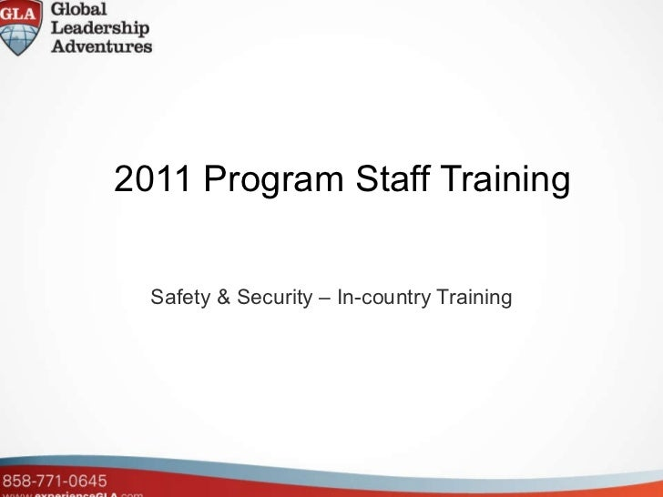 GLA Safety Training
