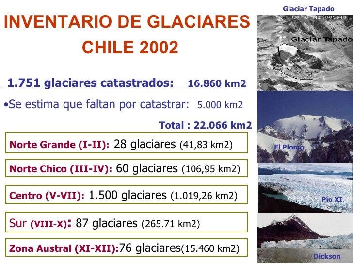 Glaciares reservas estrat gicas de agua dulce chile for Piletas de agua salada en zona sur