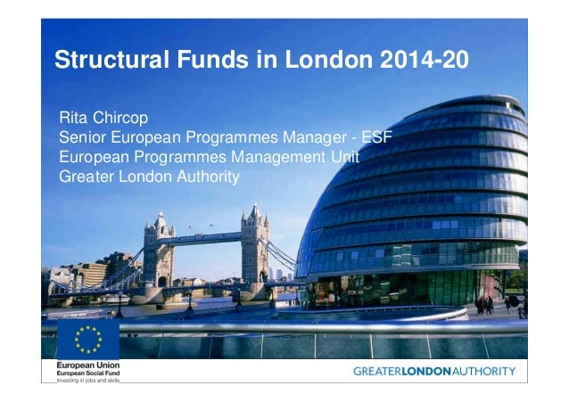 GLA Presentation - VCS Assist Gearing Up for ESF Forum (16 May 2014)