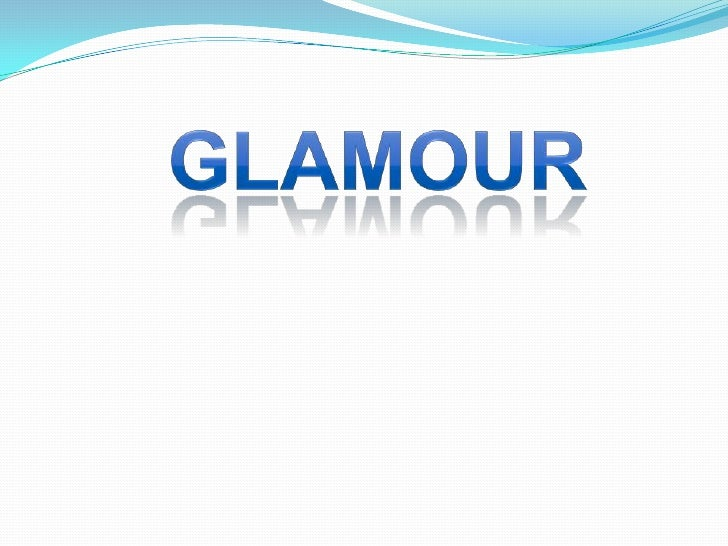 GLAMOUR<br />