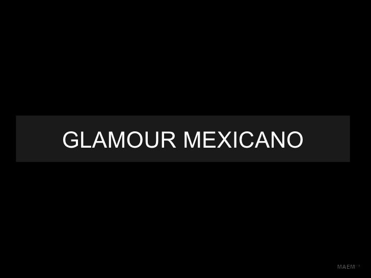 Glamour mexicano
