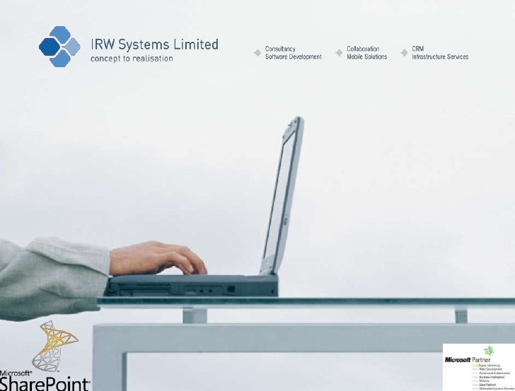 Irw seminar slides for am Sharepoint event on 25.4.12