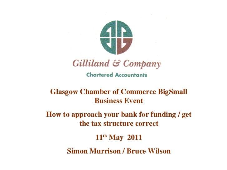 Glasgow Chamber 11.05.11