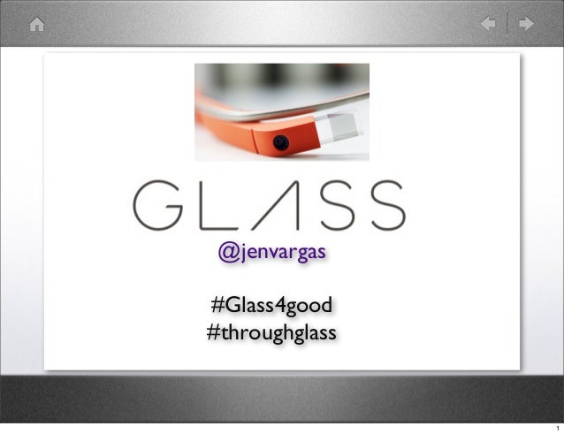 #Glass4good: Jen Vargas
