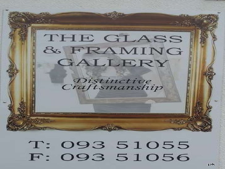 Glass And Framing Gallery (353)09351055