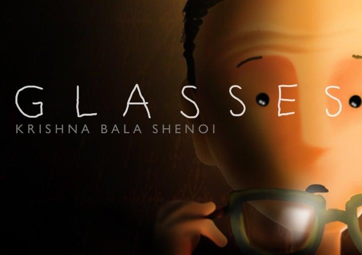 """Glasses"" - a book by Krishna Bala Shenoi"