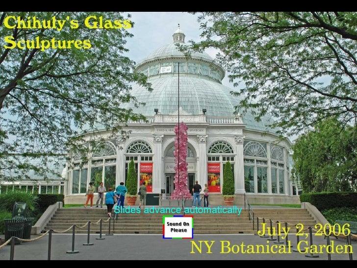Glass Sculptures