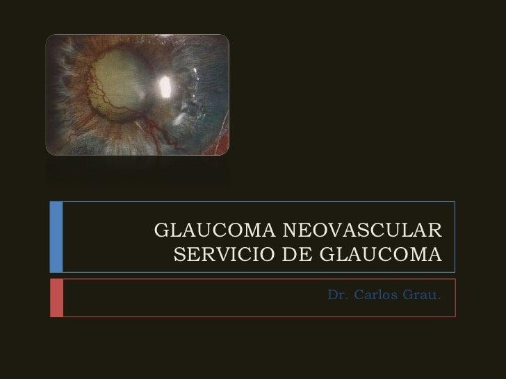 Glaucoma neovascular
