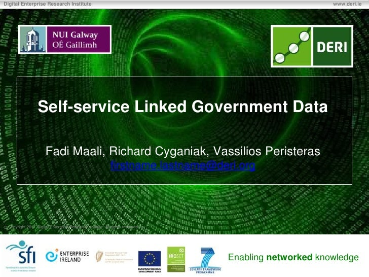 Self-service Linked Government Data