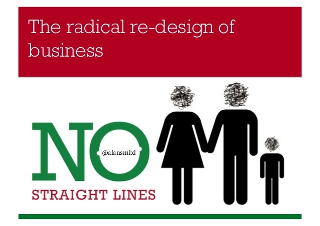 The radical re-design of business  @alansmlxl