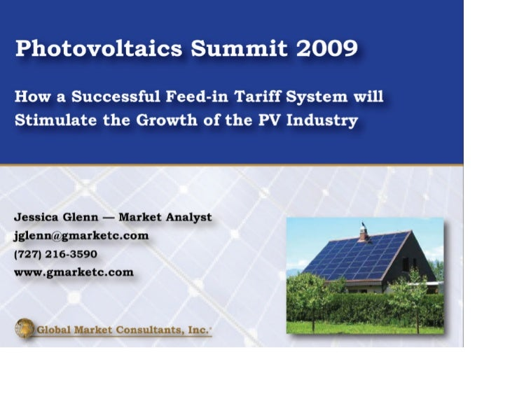 Global Market Demand for PV – 2009