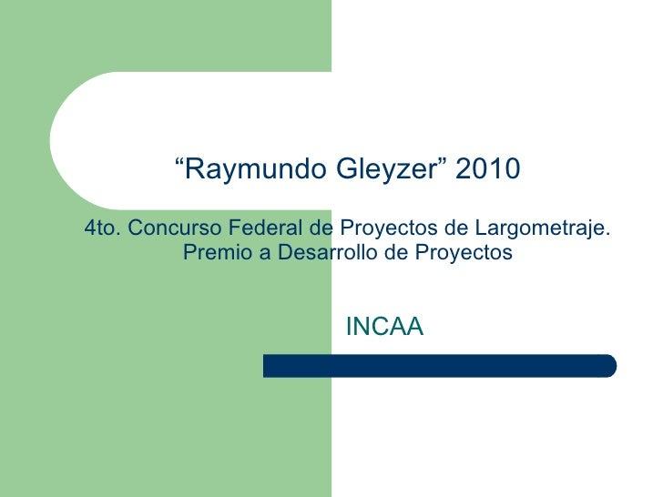 Gleyzer 2010