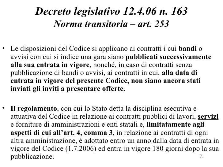 Guida contratti pubblici di servizi e forniture