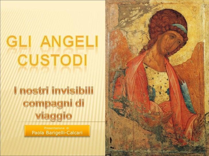 Presentazione diPaola Barigelli-Calcari