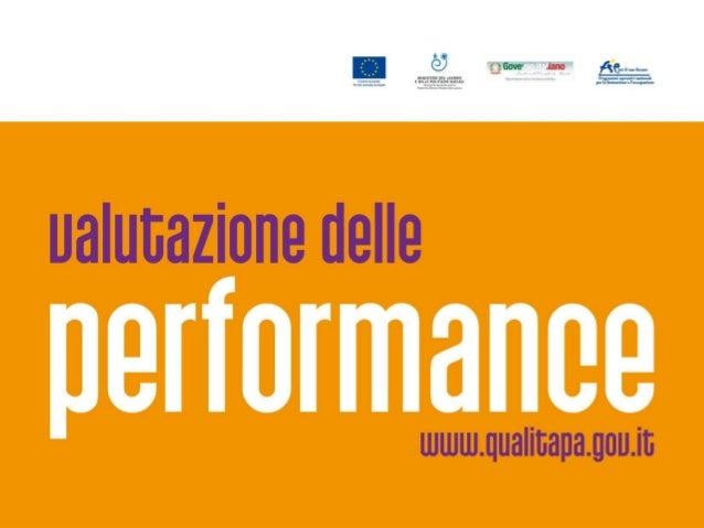 Gli indicatori per la performance dei servizi