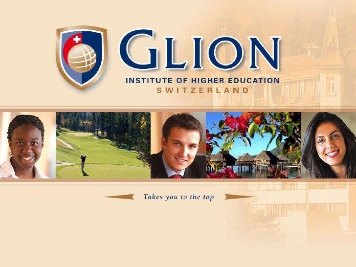 Glion - Event, Sport & Entertainment Programs