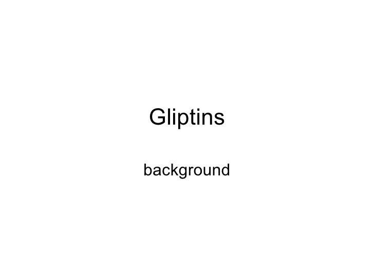 Gliptins