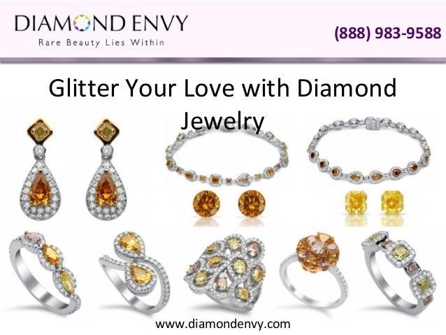 Glitter Your Love with Diamond Jewelry