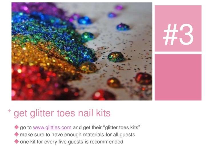 Glitter Toes Kit 3 Get Glitter Toes Nail Kits