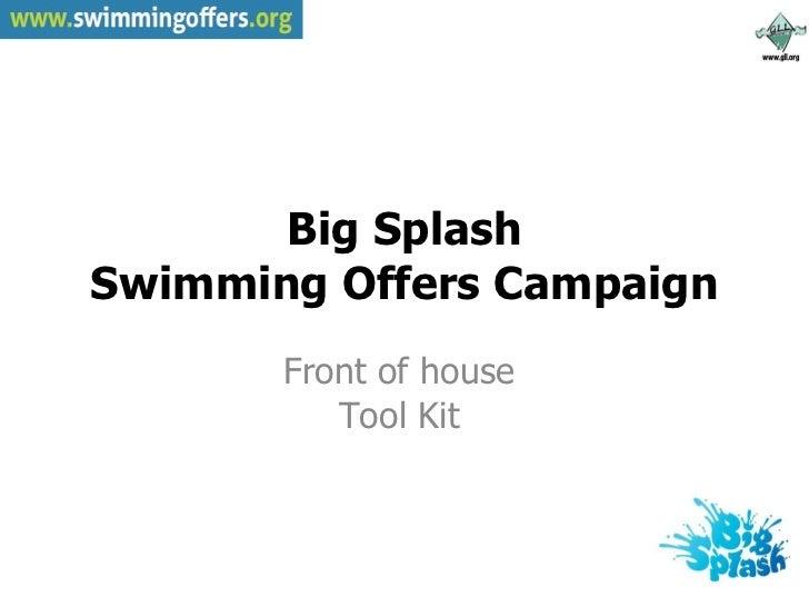 Gll big splash swim offers slideshare