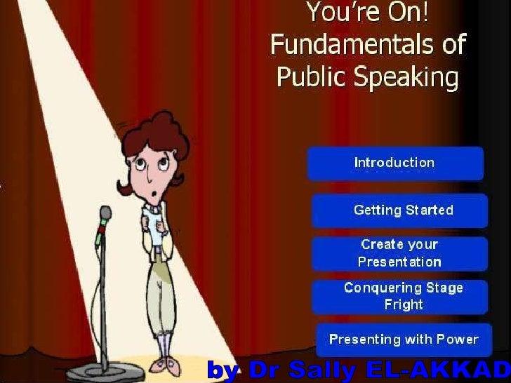 Presentation skills for beginners