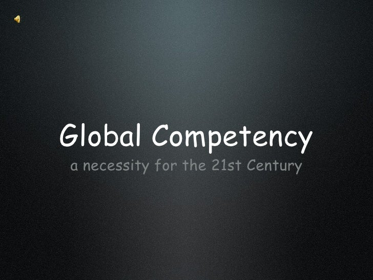 Global Competency Powerpoint 2003