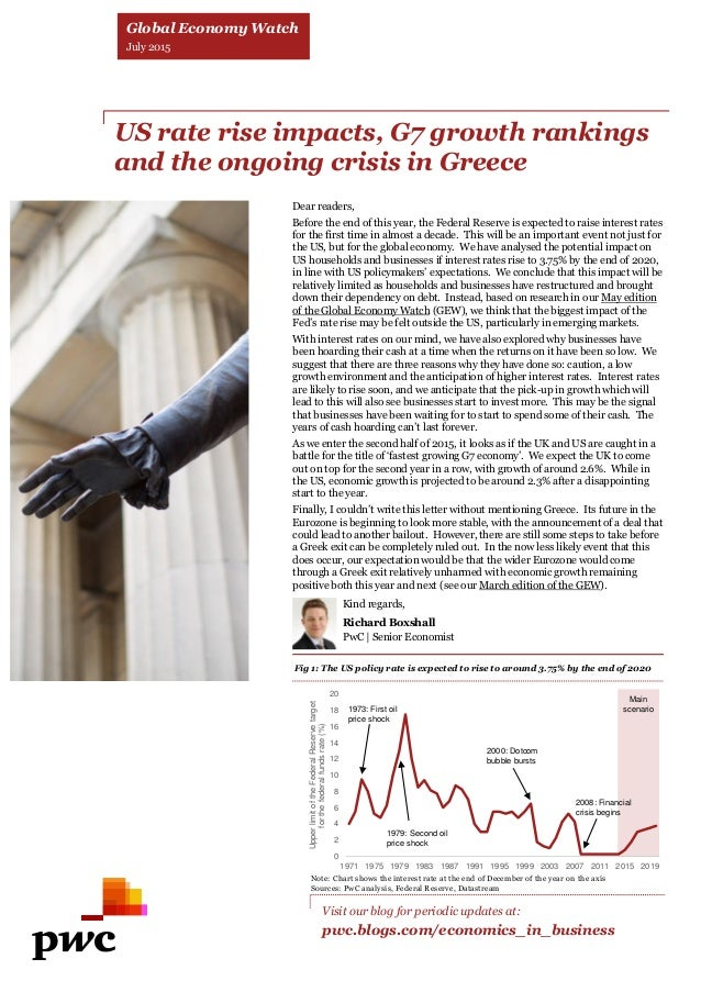Global Economy Watch: PwC