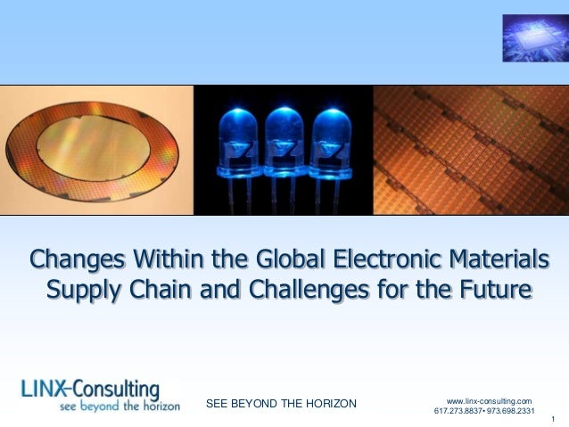 Global electronic-materials-supply-chain