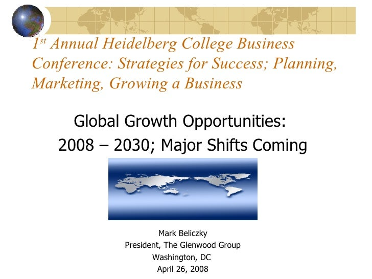 Global Growth Opportunities To 2030    Mark Beliczky