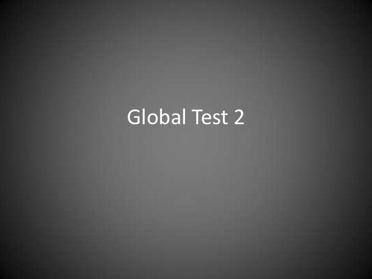 Global Test 2