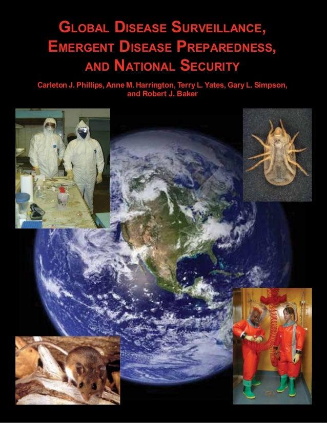 Global Disease surveillance,   emerGent Disease PrePareDness,Author(s)—Running Head                                      ...