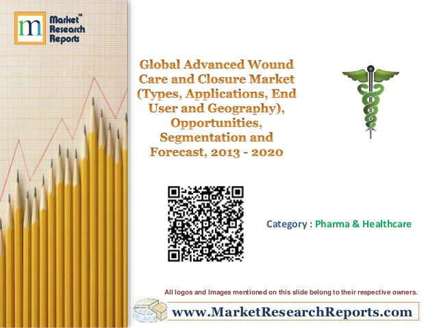 Global Advanced Wound Care and Closure Market (Types, Applications, End User and Geography) - Size, Share, Global Trends, Company Profiles, Demand, Insights, Analysis, Research, Report, Opportunities, Segmentation and Forecast, 2013 - 2020