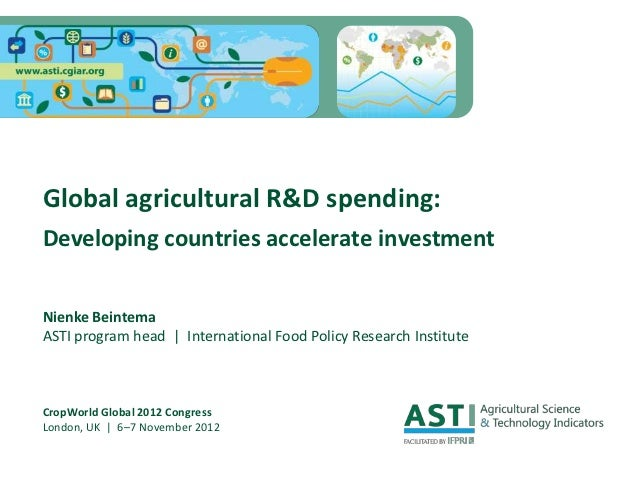 Global ag research spending   crop world