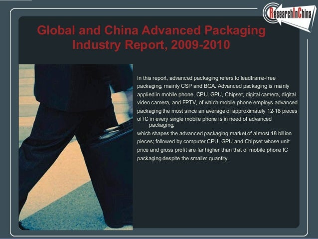 In this report, advanced packaging refers to leadframe-free packaging, mainly CSP and BGA. Advanced packaging is mainly ap...