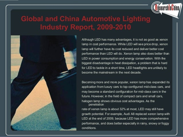 Global and china automotive lighting industry report, 2009 2010
