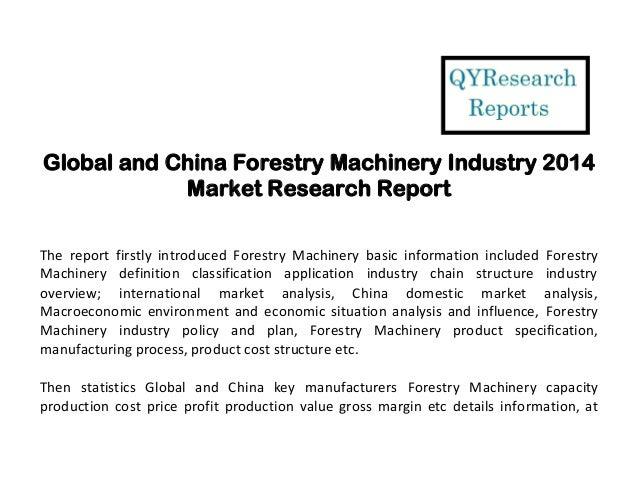 Machinery Industry 2014