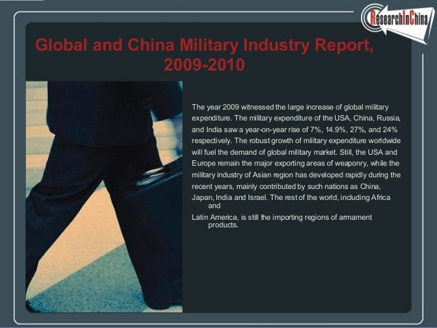 The year 2009 witnessed the large increase of global military expenditure. The military expenditure of the USA, China, Rus...