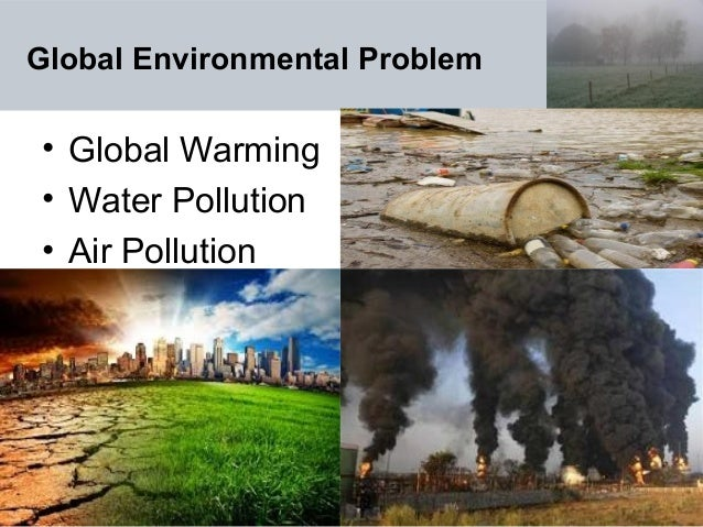 water pollution and global warming
