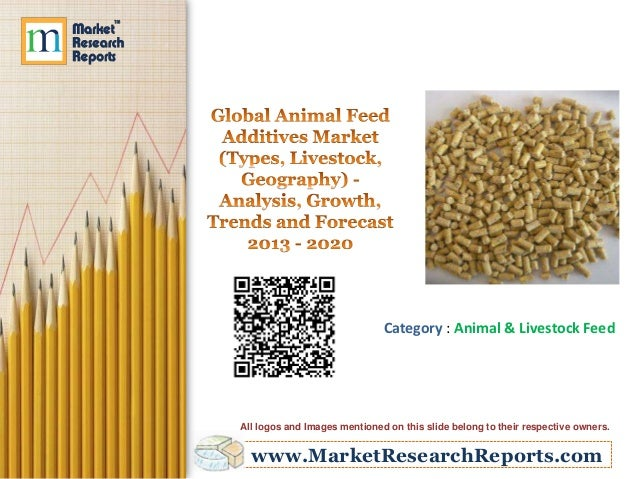 Global Animal Feed Additives Market (Types, Livestock, Geography) - Analysis, Growth, Trends and Forecast 2013 - 2020