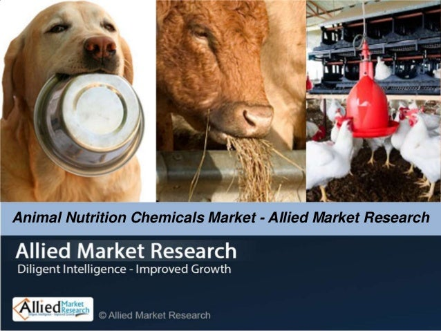 Animal Nutrition Chemicals Market - Allied Market Research