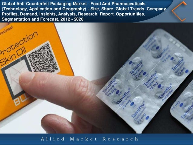 Global Anti-Counterfeit Packaging Market - Food And Pharmaceuticals (Technology, Application and Geography) - Size, Share,...