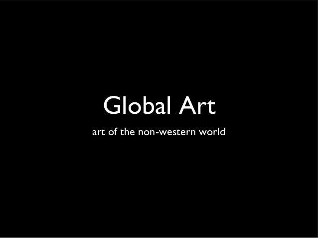 Global Art art of the non-western world