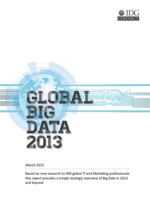 Global big data final