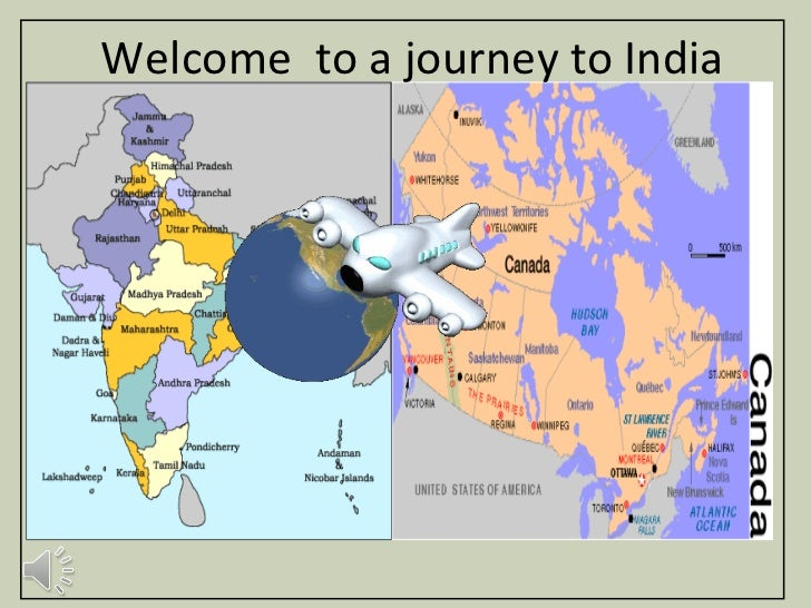 Welcome  to a journey to India