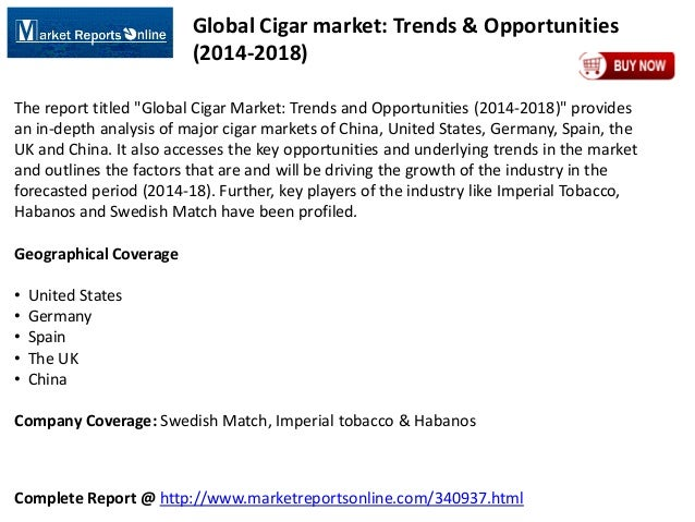 Global Cigar Market Analysis