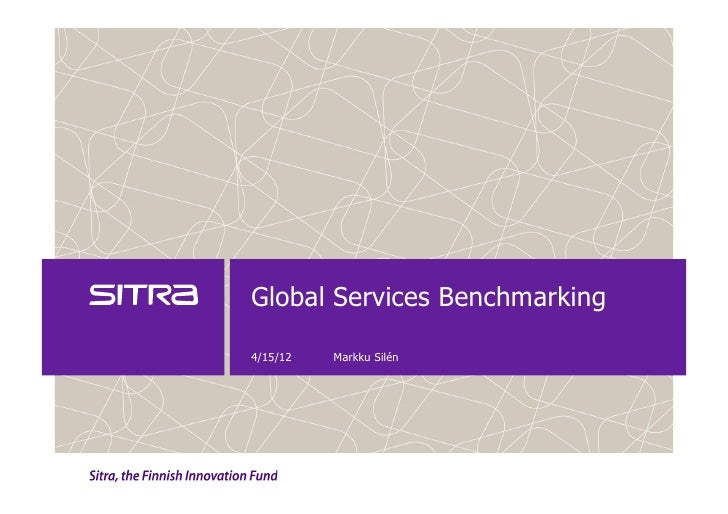 Global city services benchmarking