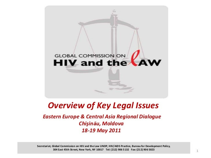 Overview of Key Legal Issues Eastern Europe & Central Asia Regional DialogueChişinău, Moldova18-19 May 2011<br />1<br />Se...