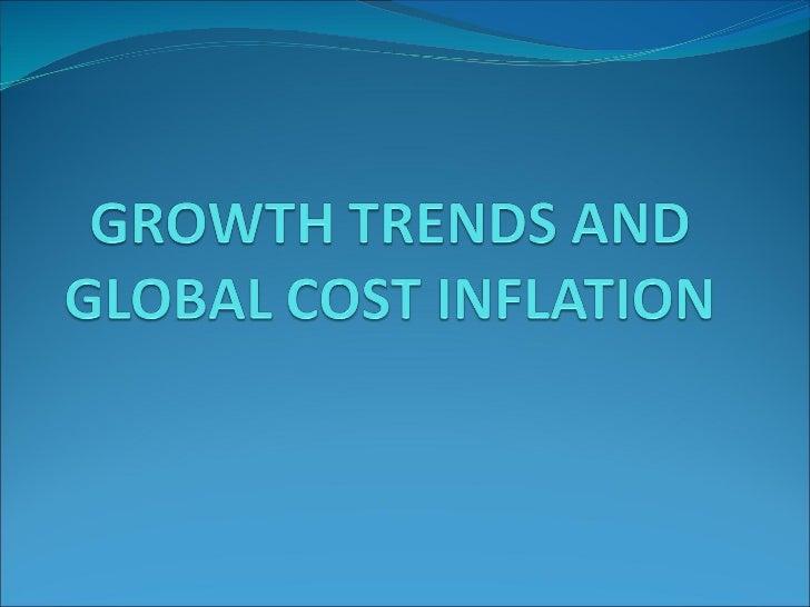 Global cost infalation
