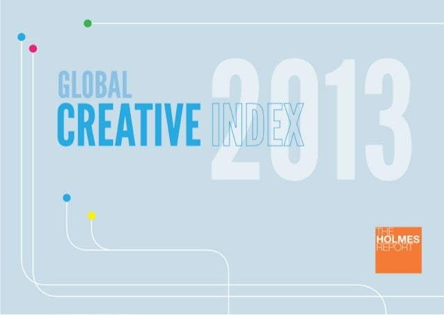 Global Creative Index 2013